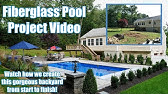 Awesome Fiberglass Pool Installation Video! - YouTube
