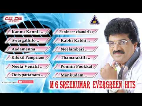 MG SreeKumar Evergreen Hits| Latest Tharangini Malayalam Film Songs|New Romantic Movie| Melody 2017