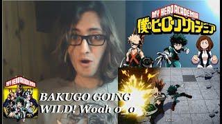 BAKUGO GOING WILD! - My Hero Academia Season 1 Episode 7: