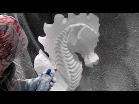 Seahorse Ice Sculpture