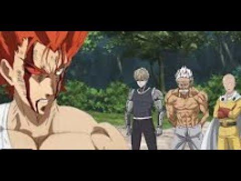 One Punch Man Season 2 Episode 12 Finale Garou Vs Bang Genos Amv Youtube