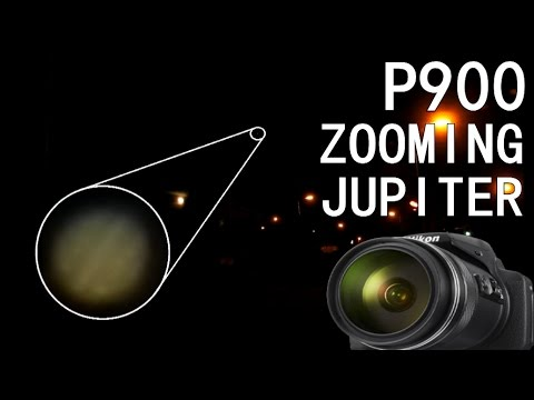 Nikon P900 - Zooming in on Jupiter (with Guide!)