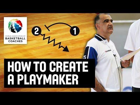 How to create a playmaker - Slavko Trninic - Basketball Fundamentals
