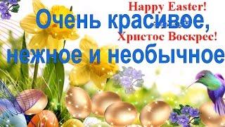 ПАСХА Видео поздравление с Пасхой Светлым Христовым Воскресеньем Христос Воскресе