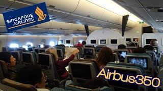 [English] Singapore Airlines A350-900|SQ632 Singapore to Tokyo