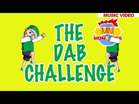 The Dab Challenge | Kids Learning Songs | Learn To Count | The Mini Monstars