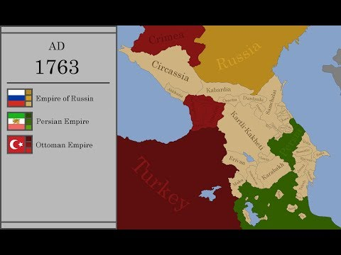 The History Of The Caucasus : Every Year