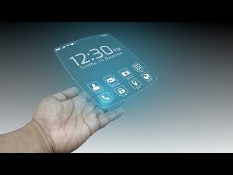 Smartphones in 2030 - Wearable Tech Phone