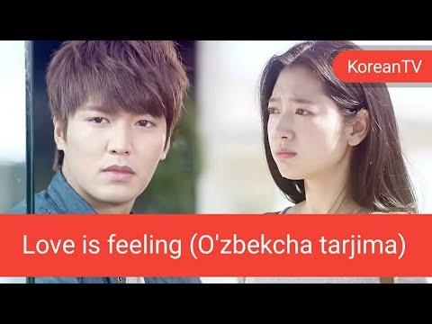 (UzSub)The Heirs - Love is feeling (O'zbekcha tarjima)(왕관을 쓰려는 자, 그 무게를 견뎌라 – 상속자들)