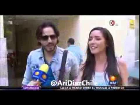 Ariadne Diaz y Jose Ron se Reencuentran Nota 1:N - YouTube