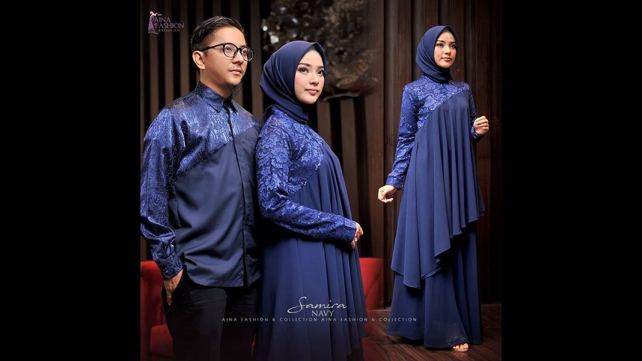 2 Model Baju Pesta Muslim Elegan Modern Terbaru 2018 2019 Youtube