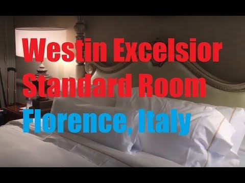 SPG: Westin Excelsior in Florence, Italy - Standard Room King