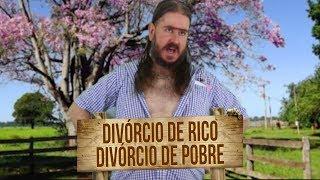 Platão do Chico: Divórcio de Rico X Divórcio e Pobre!!