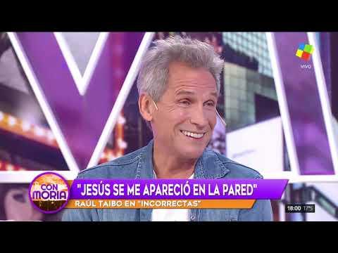 Raúl Taibo: Se me apareció Jesús en la pared