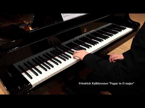 Friedrich Kalkbrenner : Fugue ( for the Left Hand Alone ) - Tchinai (P)