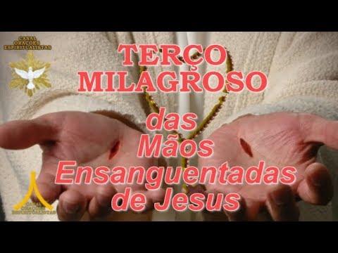 Terço Milagroso das Mãos Ensanguentadas de Jesus