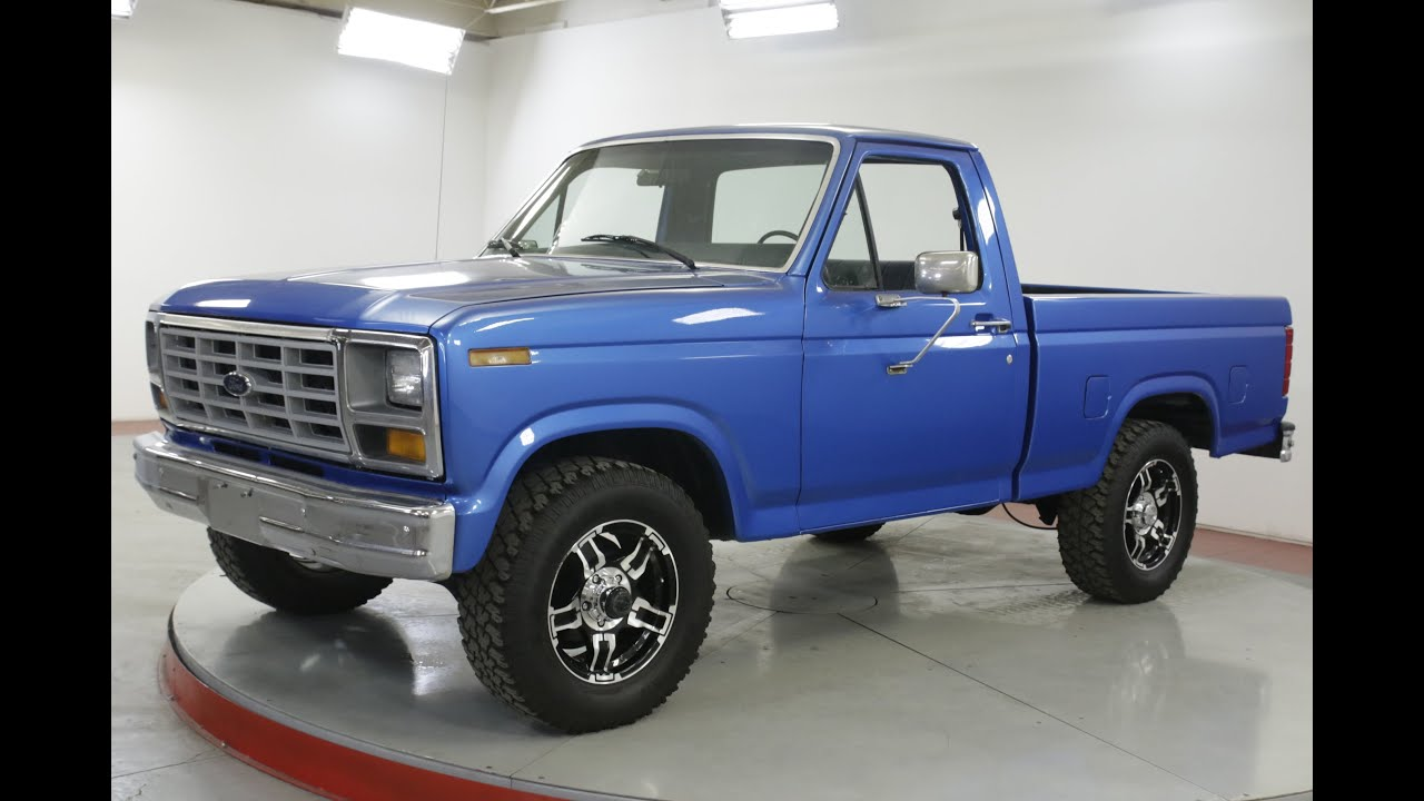 1981 Ford F150 Youtube