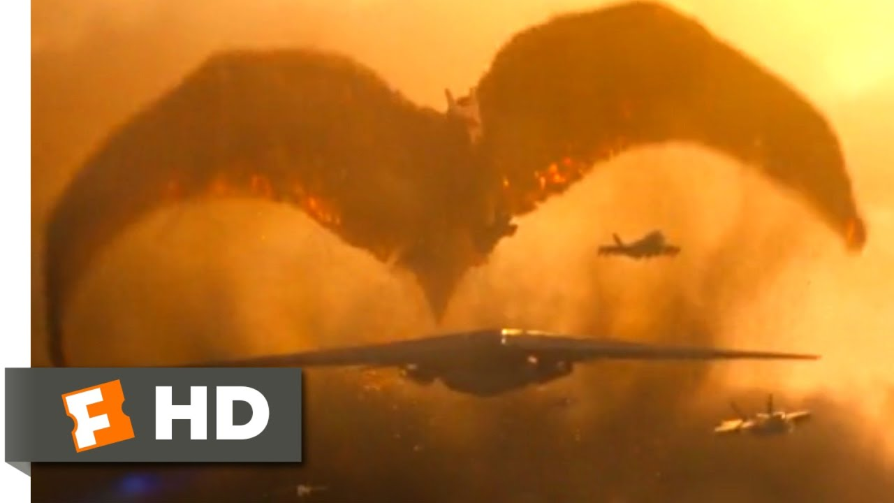 Godzilla: King of the Monsters (2019) - Rodan Chase Scene (4/10) | Movieclips
