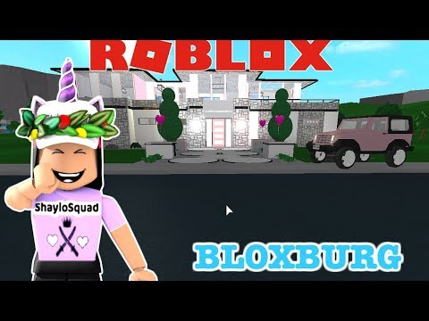 I BUILT MY DREAM MANSION ON BLOXBURG!! NEW HOUSE TOUR🏩!(BLOXBURG NEW UPDATE)