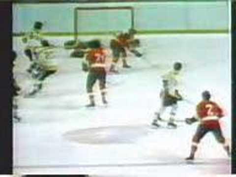 1974 Stanley Cup Finals - Game 2 Clarke OT Goal