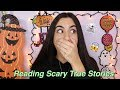 Reading Scary TRUE Stories (ghosts, demons + giveaway!) #SpookySundays | Just Sharon