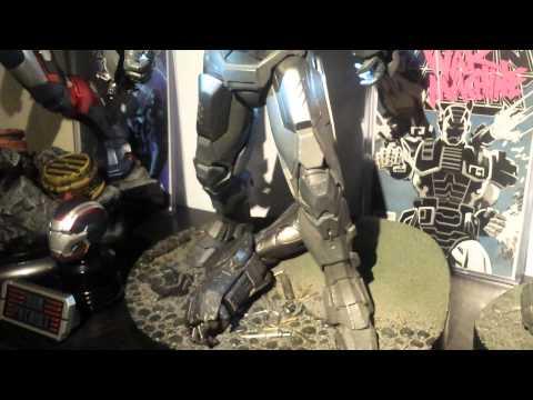 Sideshow Ironman, War Machine, Iron Patriot review