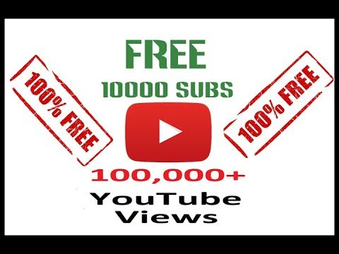 Get Free Youtube Subscriber, Views, Likes, & Comment 2018