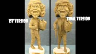 black devil doll making of the bobblehead from cult collectibles