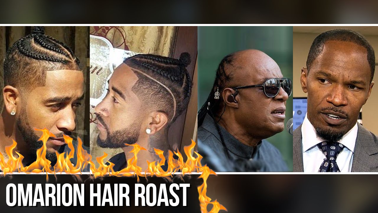 Omarion Jamie Foxx And Stevie Wonder Hair Roast Youtube