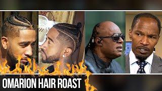 Omarion, Jamie Foxx, and Stevie Wonder Hair Roast