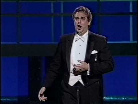 Placido Domingo live at the Queen Mother's 90th Birthday Gala 1990