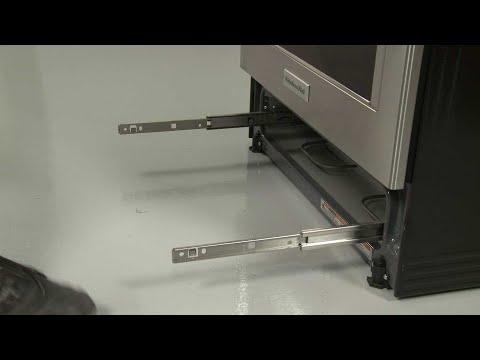 Left Warming Drawer Rail - Kitchenaid Electric Slide-In Range Model #KSEB900ESS2