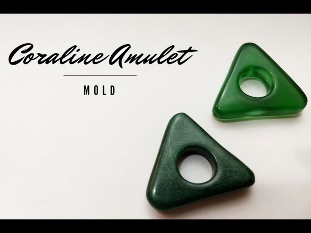 Diy Coraline Amulet Mold Part 1 Youtube
