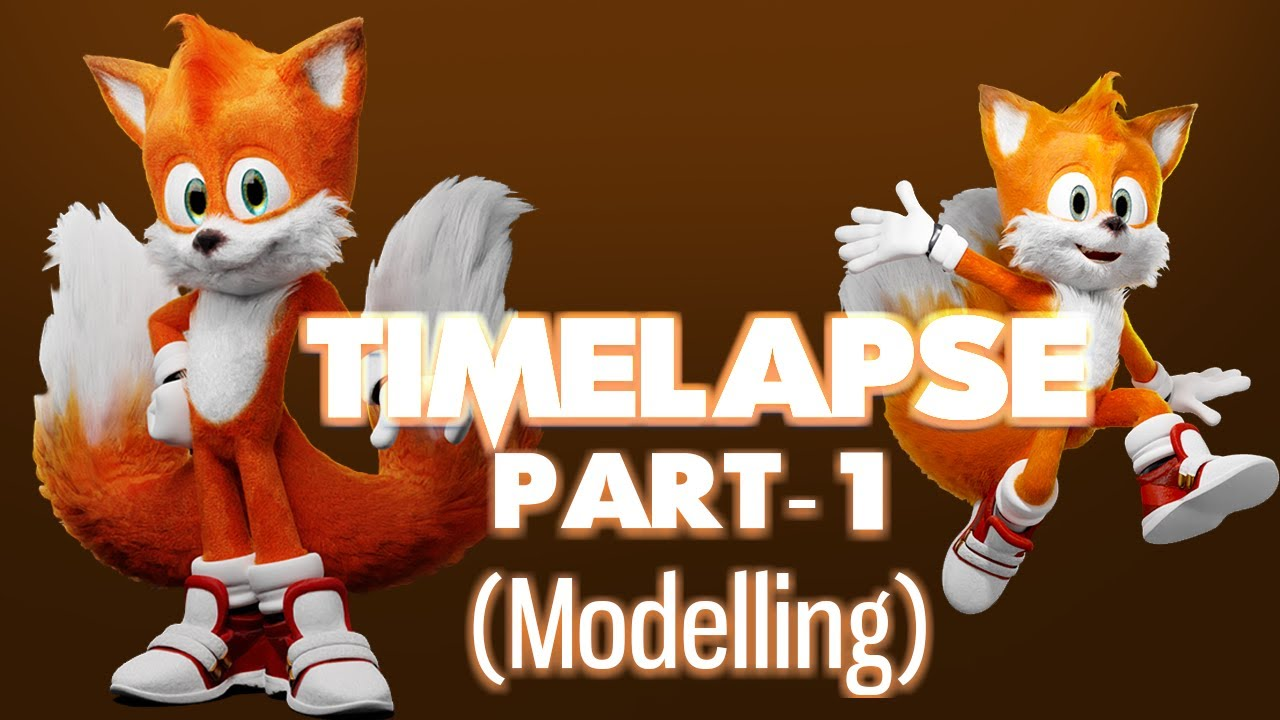 Realistic Tails Timelapse Part 1 Youtube