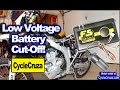 Low Voltage Battery Cut Off Module For Motorcycle - Prevent Battery Drain