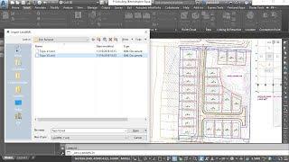 تحديث 3D المدنية الأسطح التي تم إنشاؤها من LandXML الملفات