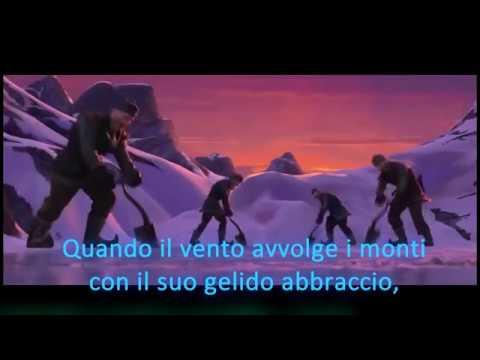 Frozen Heart in Italian Cuore di ghiaccio