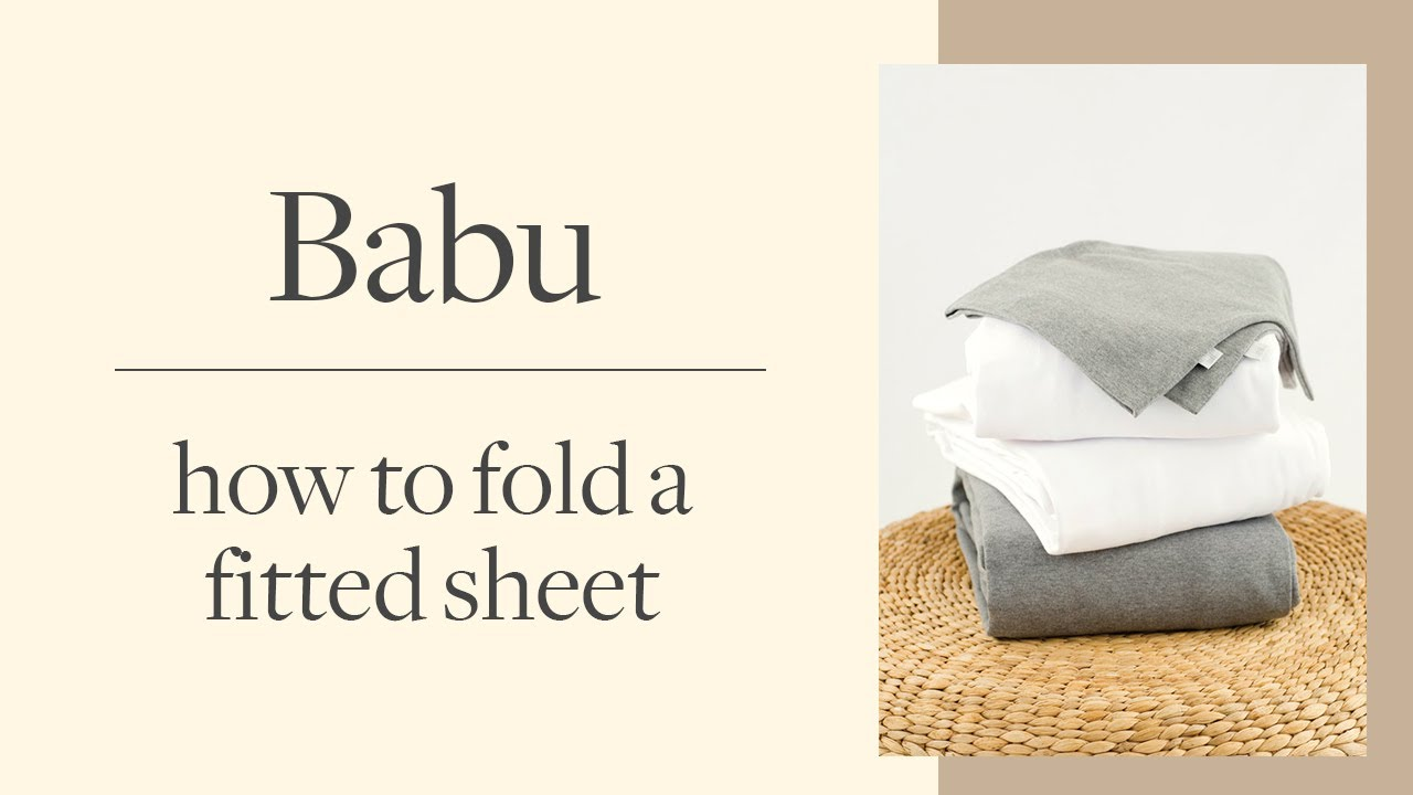 How to fold a fitted sheet | BABU