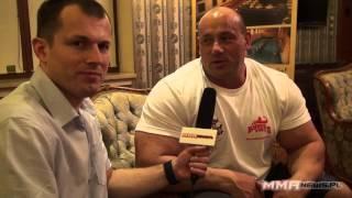 Robert Burneika na chwilę przed MMA Attack 3 - wywiad 2017 Video