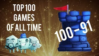 Top 100 Games of All Time: 100-91