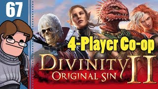 Let's Play Divinity: Original Sin 2 Four Player Co-op Part 67 - Hannag