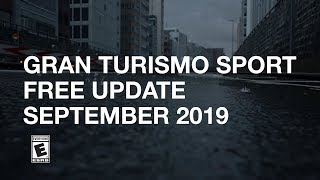 Gran Turismo Sport - Patch 1.45 (September Free Update) Trailer