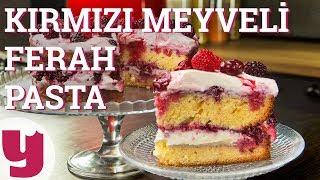 Kırmızı Meyveli Ferah Pasta (Tatlı Bir Esinti!) | Yemek.com