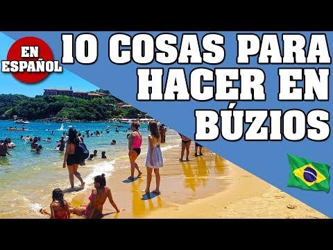 10 COSAS QUE PUEDES HACER EN BÚZIOS, VACACIONES EN BÚZIOS, RIO DE JANEIRO. PARTE 3 * EN ESPAÑOL