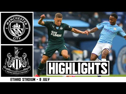 Manchester City 5 Newcastle United 0 | Premier League Highlights