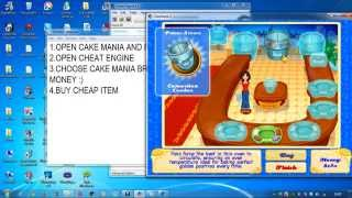 CAKE MANIA 2 CHEAT (MONEY)