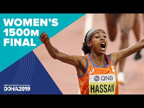 Women's 1500m Final | World Athletics Championships Doha 2019