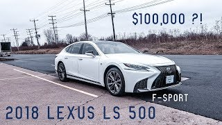 2018 Lexus LS 500 F-Sport | Full Review & Test Drive
