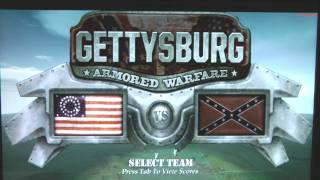 Gettysburg: Armored Warfare Gameplay & Preview