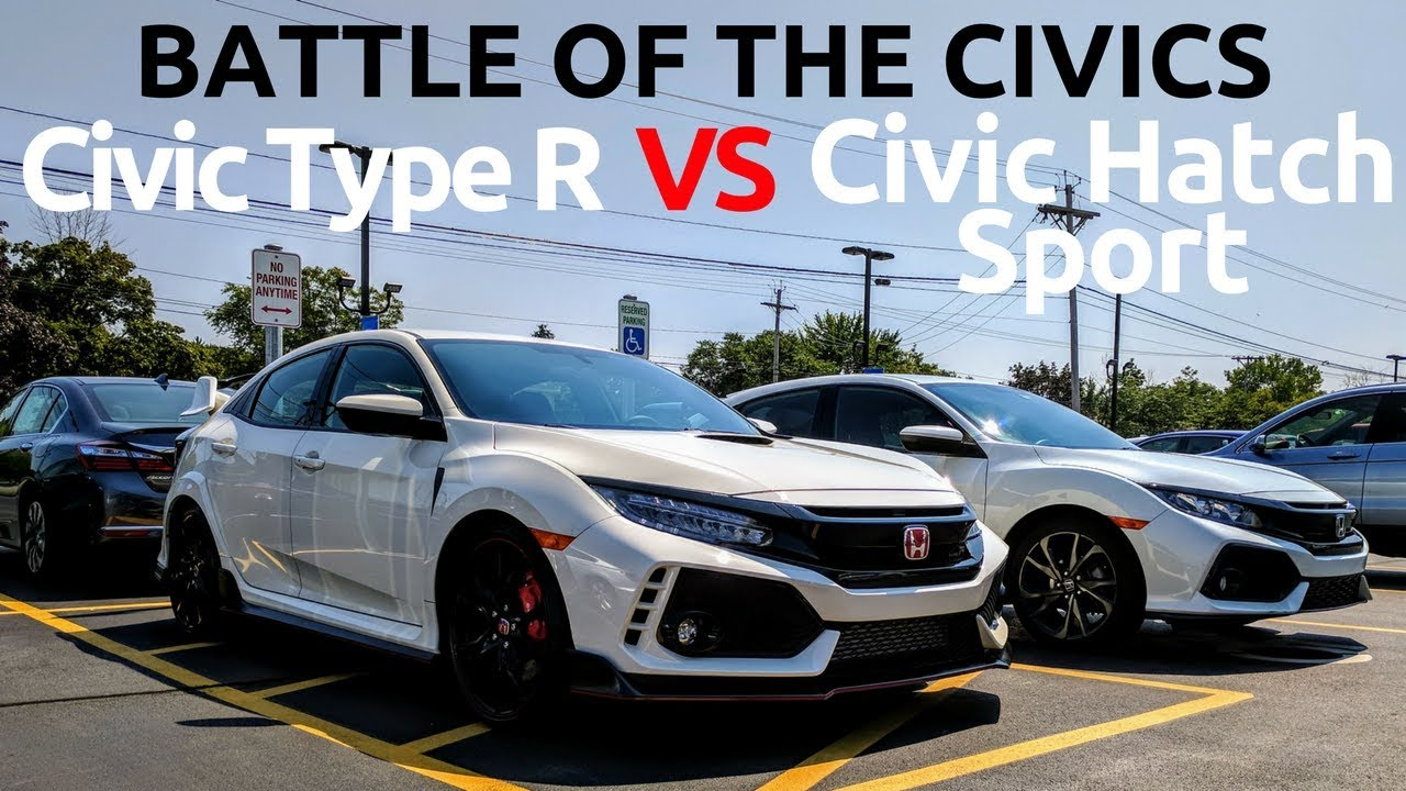 Honda civic type r vs civic hatchback sport owner 39 s for 2017 honda civic owner s manual
